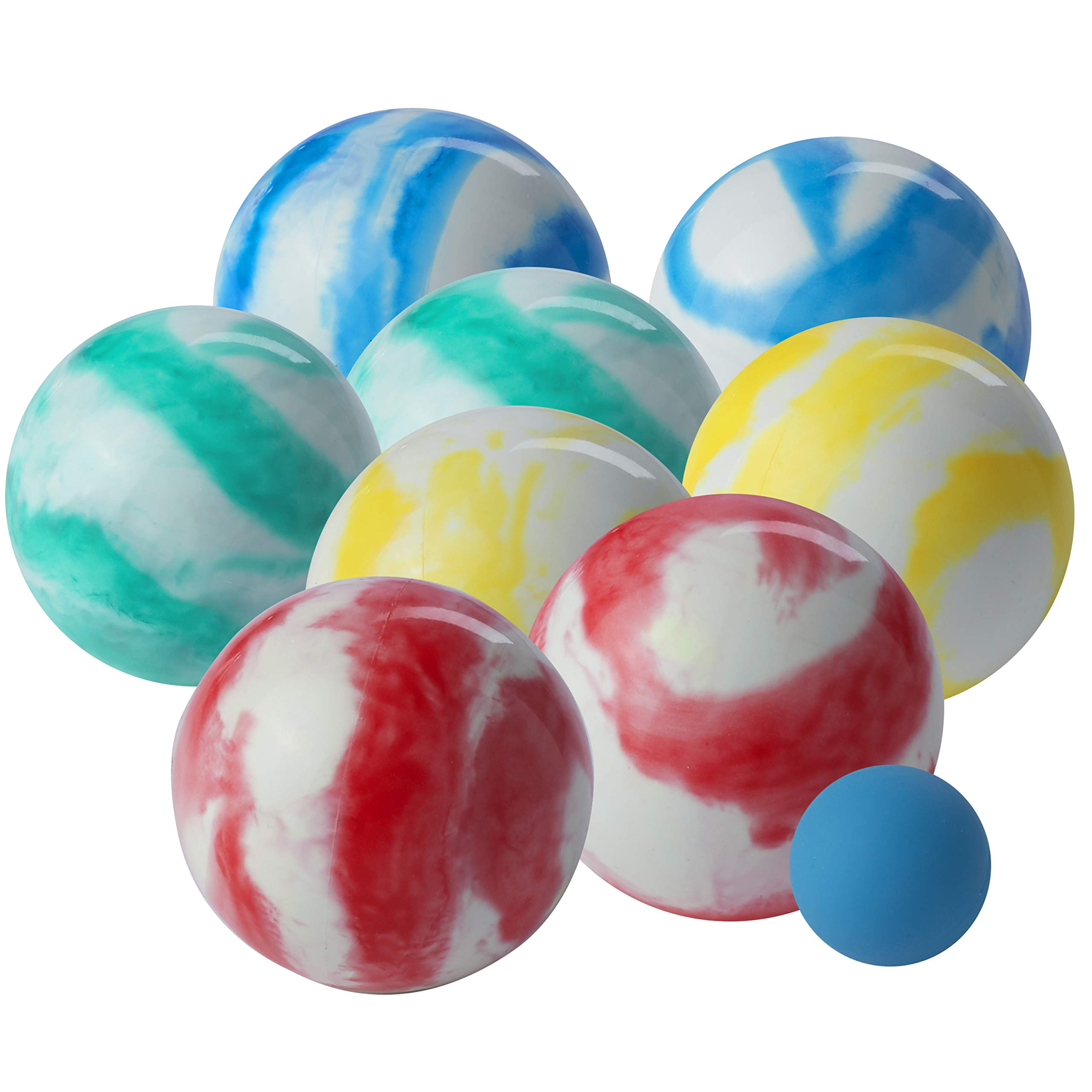Franklin Sports Family Soft Bocce Set, Swirl