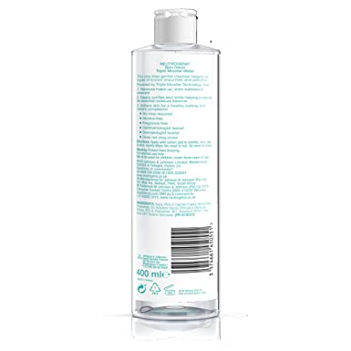 Neutrogena Skin Detox Agua Micelar Triple - 400 ml.