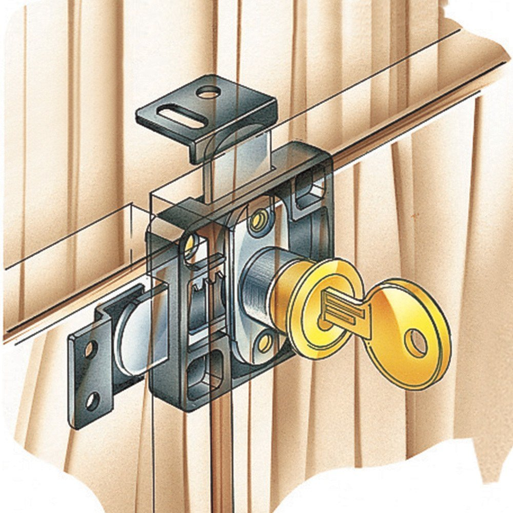 Double Door Lock - Cabinet And Furniture Locks - Amazon.com