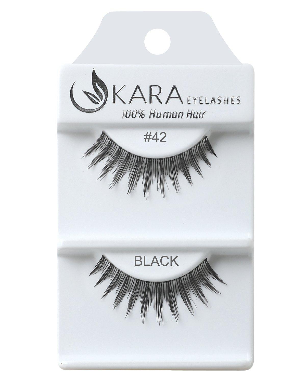 Amazon Kara Beauty Human Hair Eyelashes 42 Pack Of 12