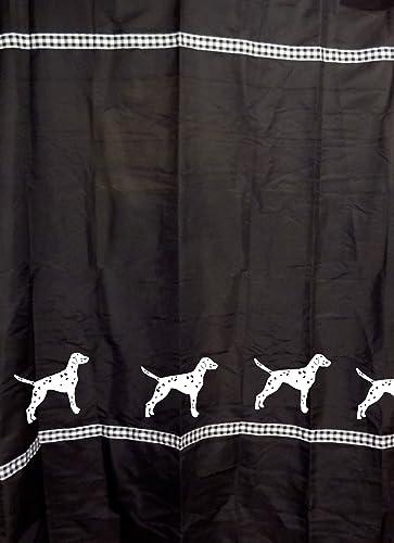 Amazon Dalmatian Dog Shower Curtain