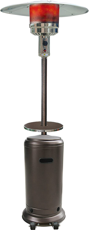 GLOBAL It is very popular overseas AIR GLC-GH-T Havana Bronze Heater Table Patio with Twin
