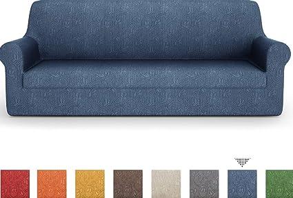 PETTI Artigiani Italiani Sillon, Burdeos, Fundas Sofa Elasticas, Tejido Jacquard, 100% Made in Italy, (85 a 110 cm)