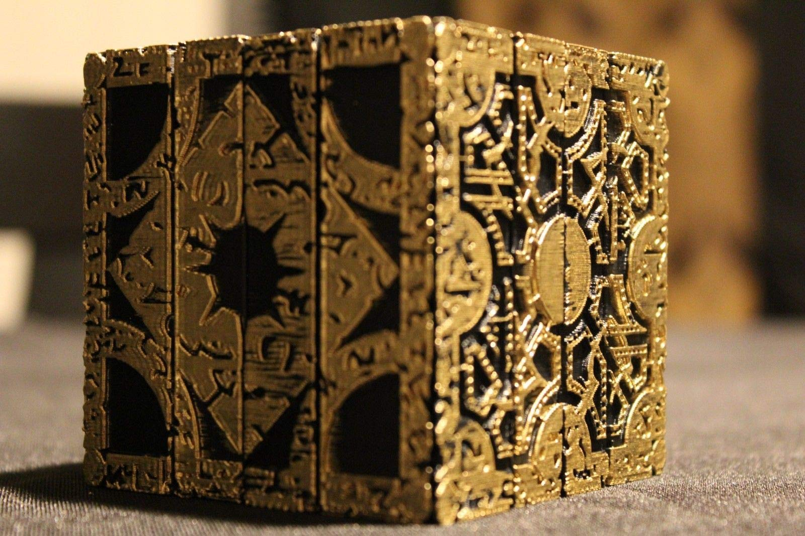 Hellraiser Cube Puzzle Box Lament Configuration Functional Pinhead Prop Horror by Unknown