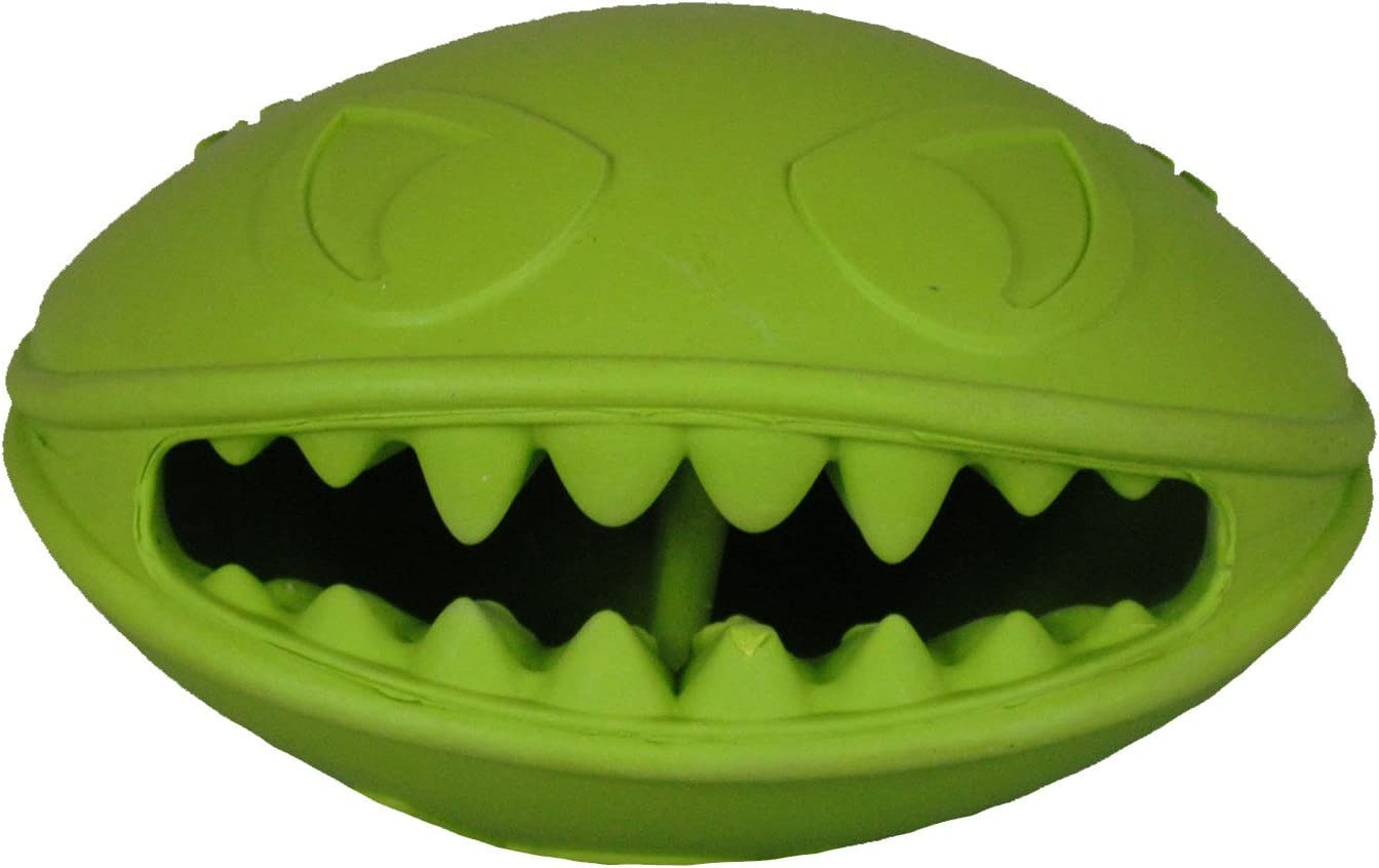 Jolly Pets Monster Mouth Oval Dog Toy/Treat Holder