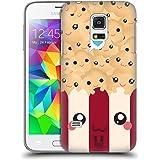 Head Case Designs Popcorn Kawaii Serie 1 Ruckseite Hülle für Samsung Galaxy S5 mini