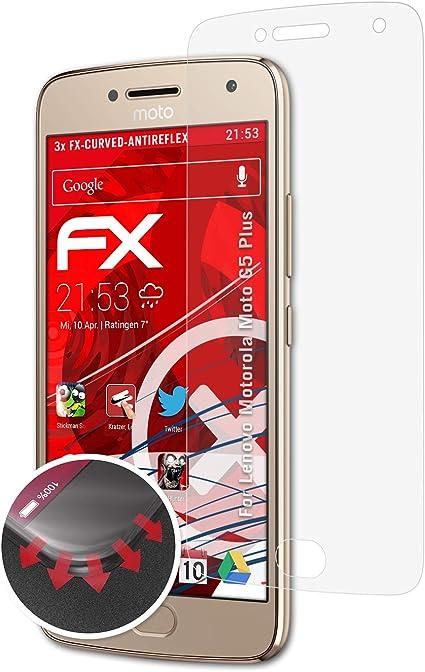 atFoliX Anti-Choque Lámina Protectora de Pantalla para Lenovo ...