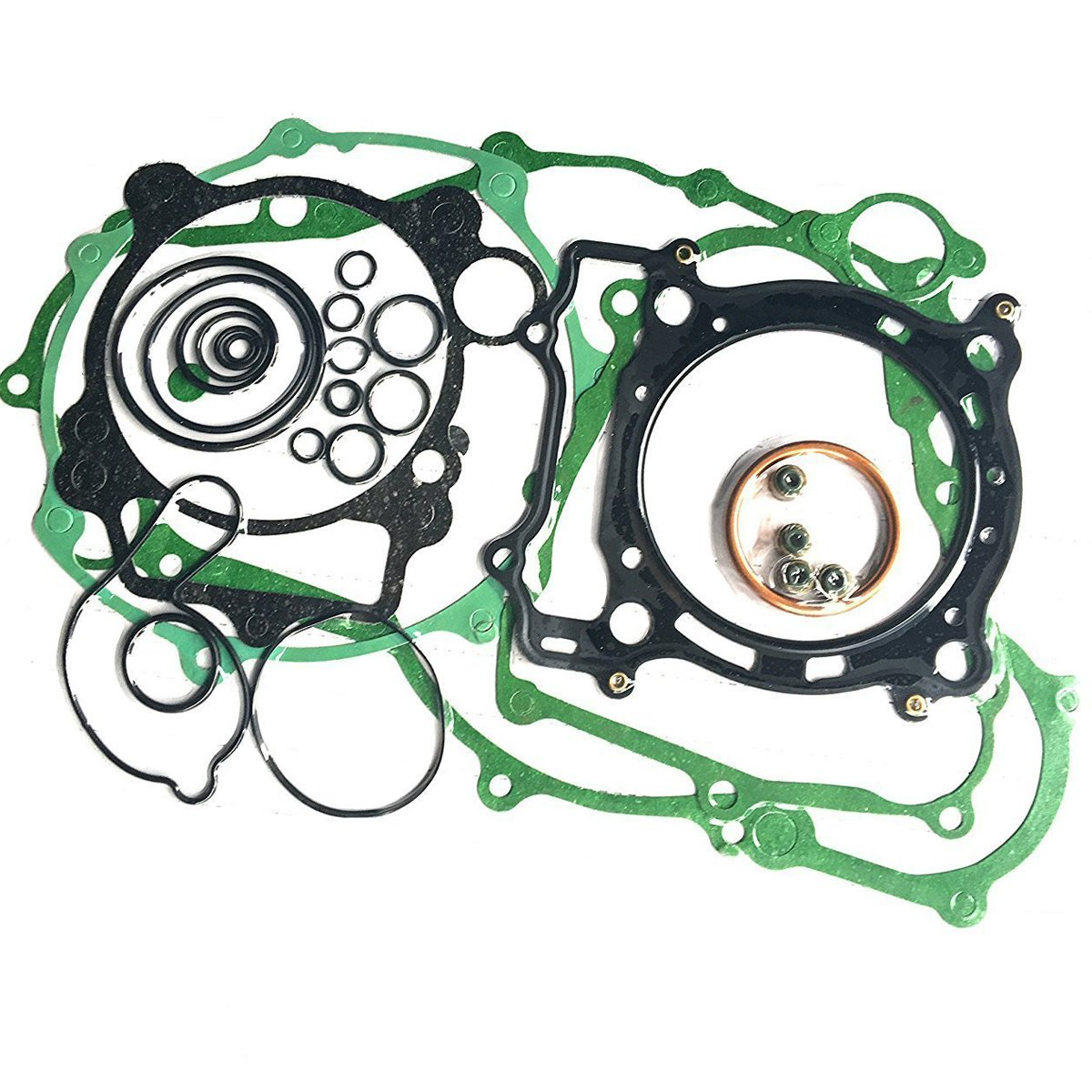 Complete Engine Rebuild Gaskets Seal O-ring Kit Set for Yamaha YFZ 450 by Amhousejoy YANTONG TRADE