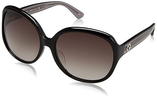 Amazon.com: Gucci anteojos de sol de moda: Clothing