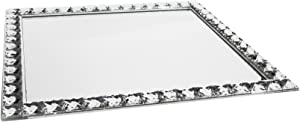 American Atelier Jewel Accent Mirror Rectangle Tray/ Wall Hanging.