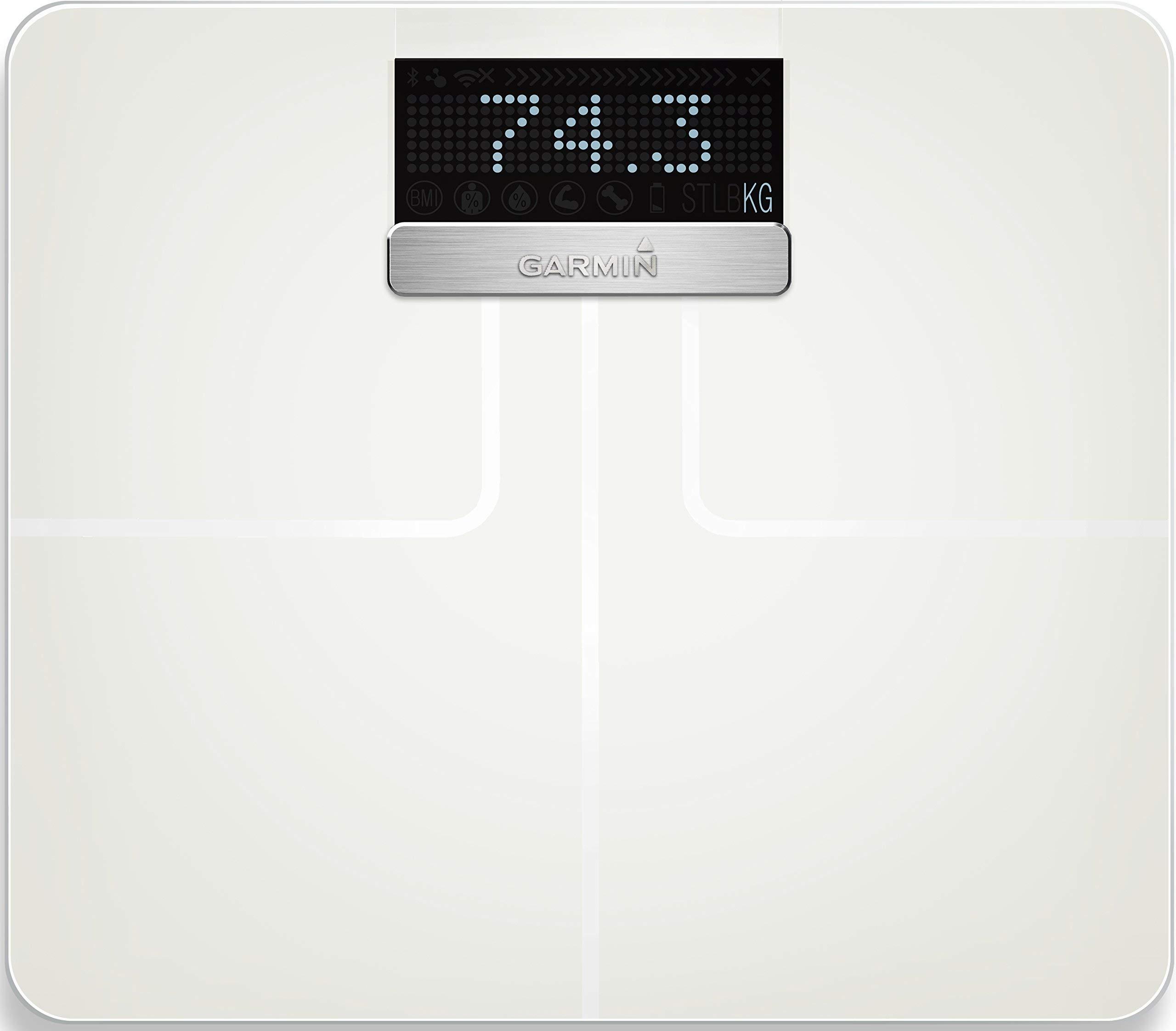 Garmin 010-01591-11 Garmin Index Smart Scale - White International Version (Renewed)