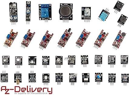 AZDelivery 35 en 1 Arduino de sensores de y accesorios para ...