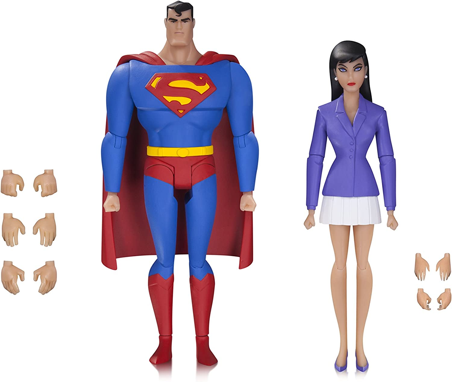 New DC UNIVERSE Super Man Best Buy Exclusive Animated Direct 4.5/'/' Figure Toys