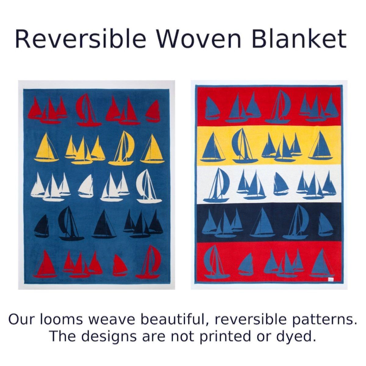 ChappyWrap Oversize Cotton Throw Blanket - Coastal Living Collection by ChappyWrap (Image #3)