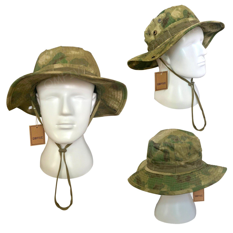 QMFIVE Outdoor Multicolor Sonnenschutz Chapeau Abgerundeter Hut f/ür Tactical Airsoft Paintball Aufstieg Camping