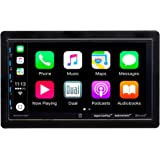 """Dual Electronics 7"""" Double Din Mechless Digital Media Receiver with Apple CarPlay Android Auto"""