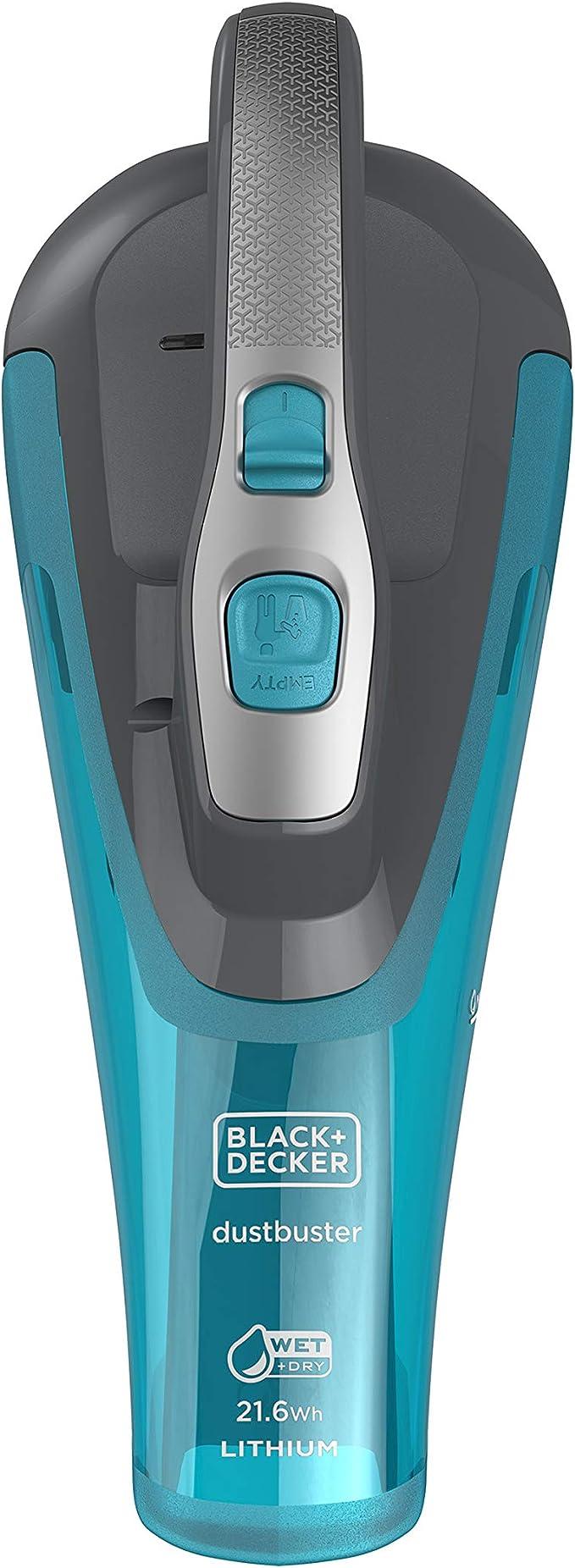 BLACK+DECKER WDA320J-QW - Aspirador de mano sin cable para líquidos y sólidos 10.8V(2Ah): Amazon.es: Hogar