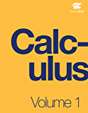 Calculus Volume 1 (English Edition)