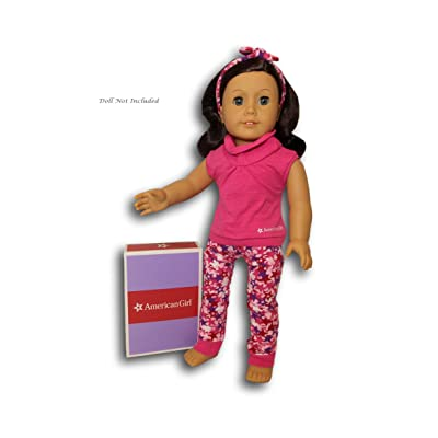 "American Girl Truly Me Cute & Comfy Lounge Set for 18"" Dolls (Doll Not Included): Toys & Games"