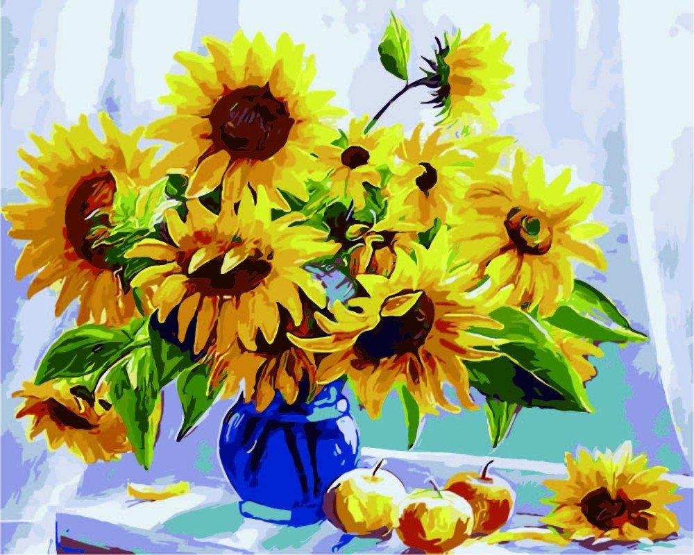 Pintura por Numeros (ITM24870)flor