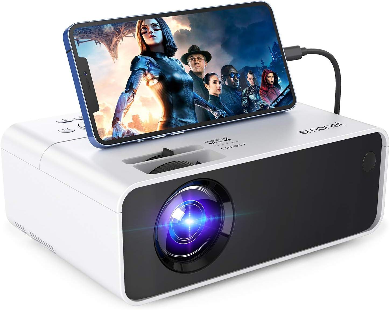 SMONET 1080p Portable Movie Mini Projector $79.99 Coupon
