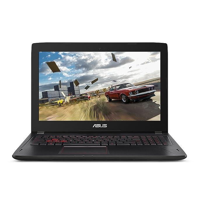 Asus Juegos Fina y luz portátil, Full HD de 15,6 Pulgadas, procesador de núcleo i77700HQ, RAM DDR4 16GB, 128 GB SSD + 1TB Disco Duro, GeForce GTX 1060 3GB, ...