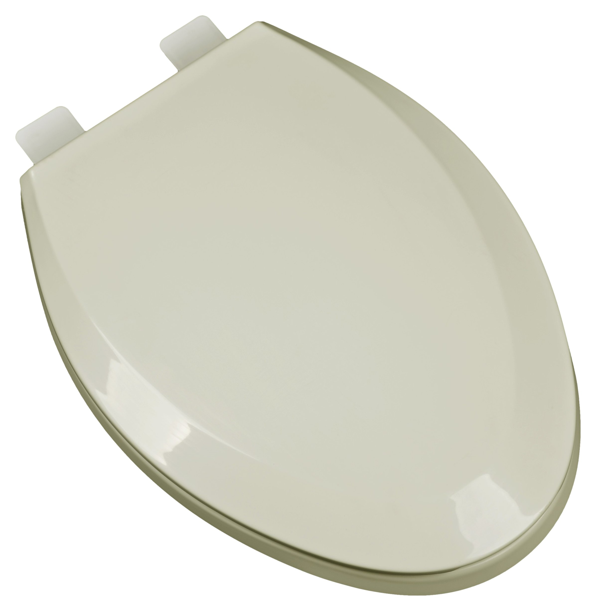 Bath Décor 2F1E5-01 Premium Plastic Elongated Toilet Seat with Adjustable Hinge