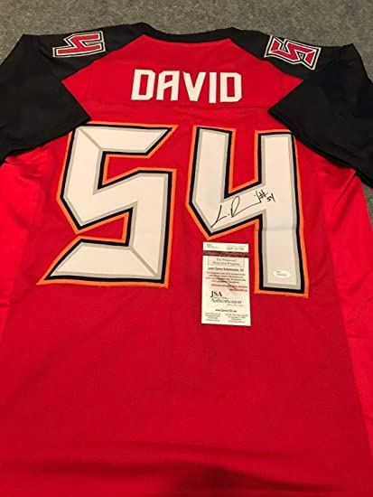 332b671f245 Lavonte David Autographed Signed Tampa Bay Buccaneers Jersey - JSA Authentic