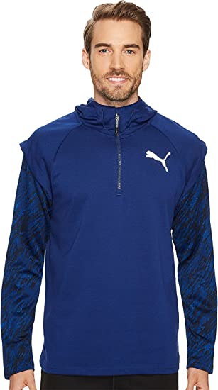 Amazon.com  PUMA Mens 1 4 Zip Energy Hoodie  Clothing aae5a958623