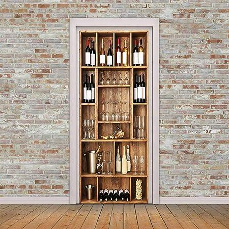 Vinyl Decals pour bouteilles de vin