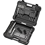 CRAFTSMAN 933137 137 Pieces Mechanics Tool Set with Easy-to-Read Sockets