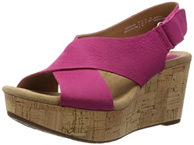 Clarks CASLYNN SHAE Damen Sandaletten Größe 38 Pink (Pink) P5a49