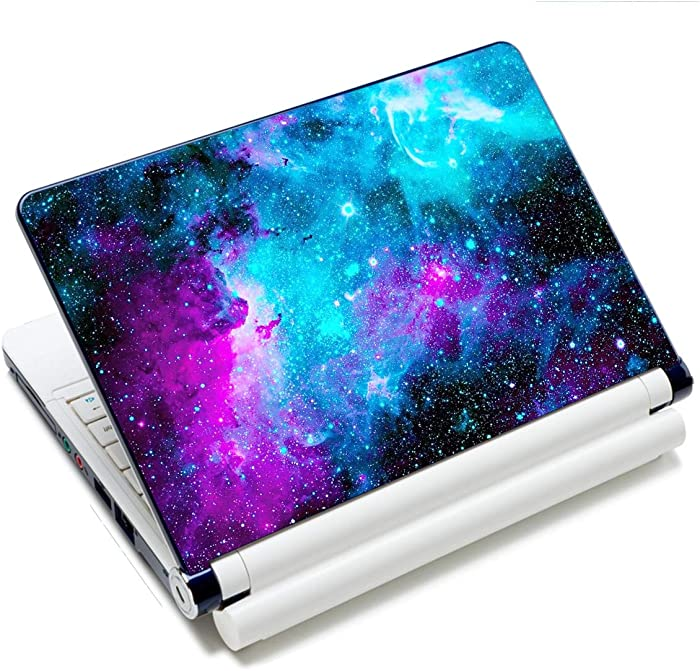 "Laptop Skin Vinyl Sticker Decal, 12"" 13"" 13.3"" 14"" 15"" 15.4"" 15.6 inch Laptop Skin Sticker Cover Art Decal Protector Fits HP Dell Lenovo Compaq Apple Asus Acer (Galaxy)"