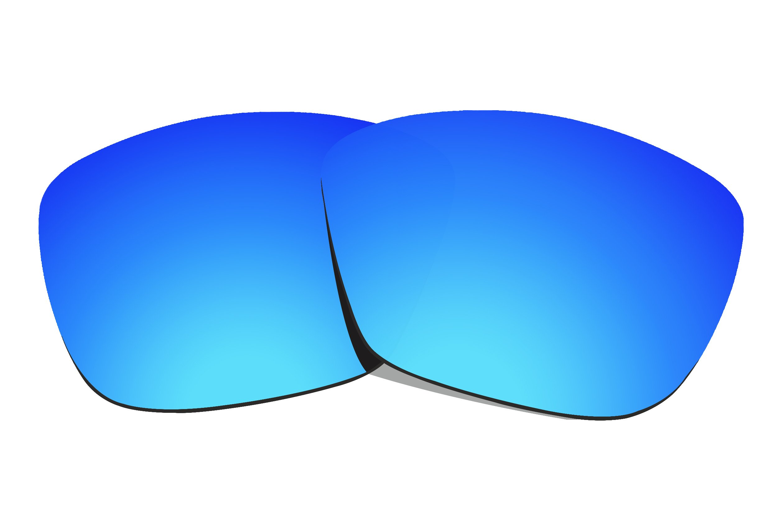 COLOR STAY LENSES 2.0mm Thickness Polarized Replacement Lenses for Oakley Hold On OO9298 Blue Mirror Coatings by COLOR STAY LENSES