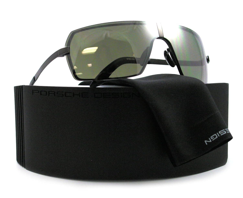 Porsche Design Gafas de sol P8491 - A: Caña de fusil: Amazon ...