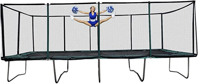 Happy Trampoline Galactic Xtreme Rectangle Trampoline - Jumping Capacity