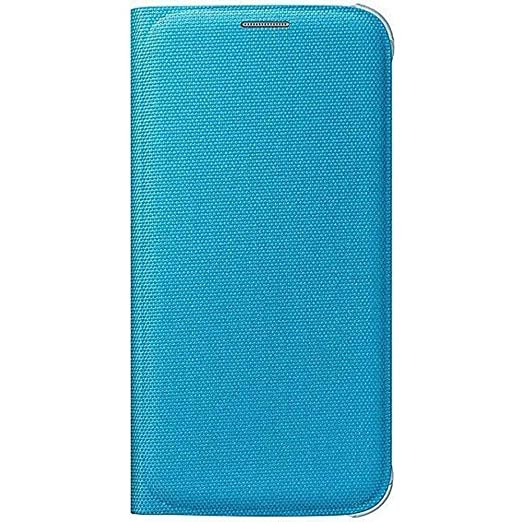 174 opinioni per Samsung Custodia Flip Wallet in Tessuto per Galaxy S6, Blu
