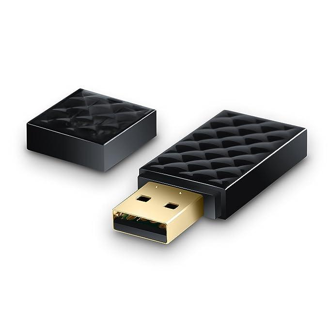 CSL-Computer WLAN Dual Band Stick con configuración protegida Wi ...