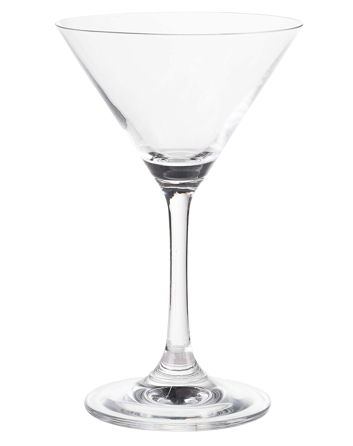 Wedding Birthday Celebrations Ideal Gifts for Housewarming Inverted Cone Shaped Stemware 6-Set Clear Classic 5-Ounce Cocktail Glasses Martini Glasses Bar Accessories