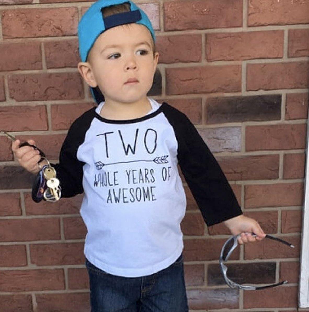 Bump and Beyond Designs Second Birthday Boy Shirt 2nd Birthday Shirt for Boys