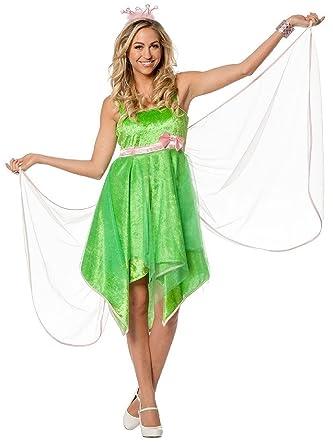 feen fee elfe tinkerbell kostum kleid elfen damen madchen feenkostum wald