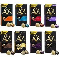 L'OR Espresso Café Paquete de variedades - Nespresso® * Cápsulas de café de aluminio compatibles - 8 paquetes de 10 cápsulas (80 bebidas)
