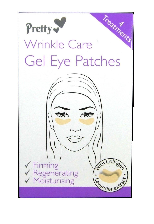 Pretty Wrinkle Care gel Eye Patches, confezione da 4 82190-037