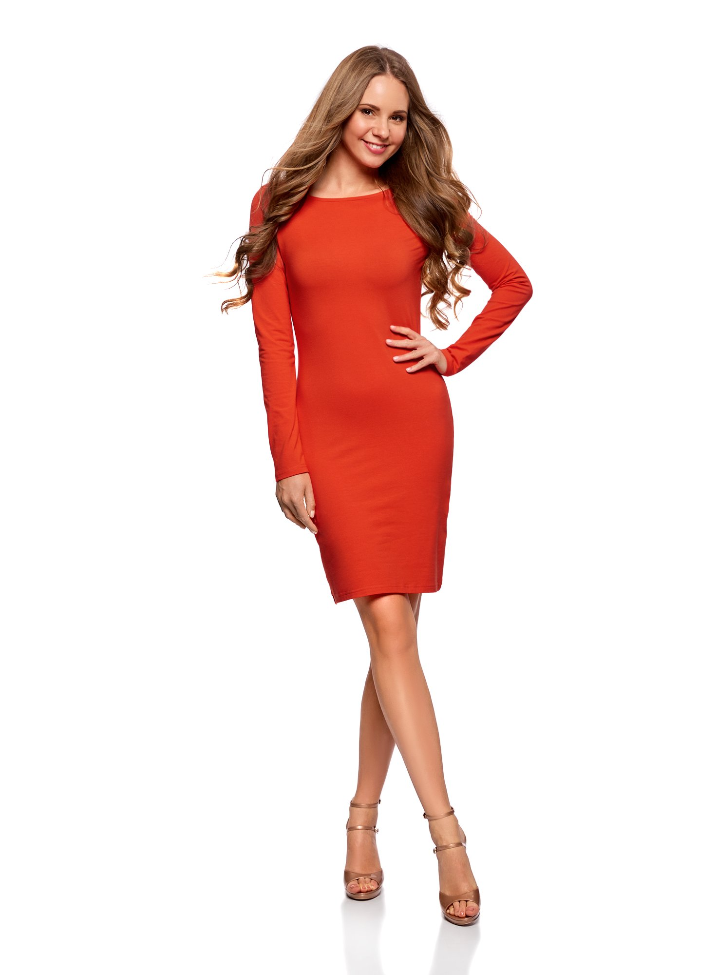 oodji Ultra Mujer Vestido de Punto Ajustado product image