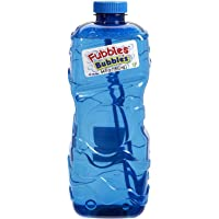 "Little Kids Fubbles Premium Long Lasting Bubble Solution, Assorted Colors, 64 oz ("""".0 1-64 oz)"