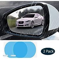 Película de espejo retrovisor para automóvil de 2 piezas, espejo de visión lateral para automóvil, película nano HD anti…