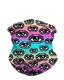 iHeartRaves Infinite Eyes Multi-Functional Seamless Face Mask Bandana