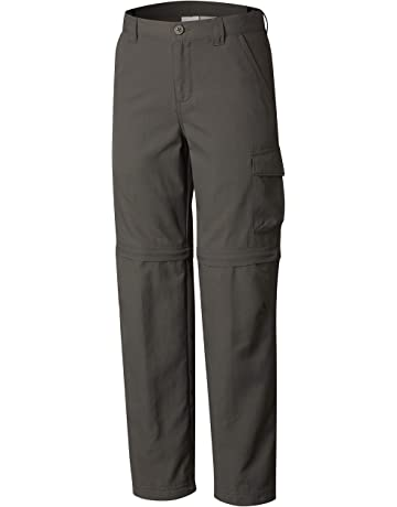 e1c745c7 Columbia Boys' Silver Ridge III Convertible Sun Pants, Moisture Wicking