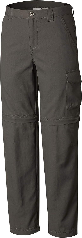 Columbia Sportswear Boys' Silver Ridge II Convertible Pant (Little Big Kids): Clothing