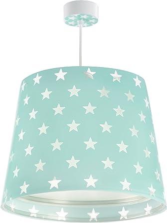 LED Lampe Kinderzimmer Decke Pendelleuchte Sterne 81212H Warmweiß ...